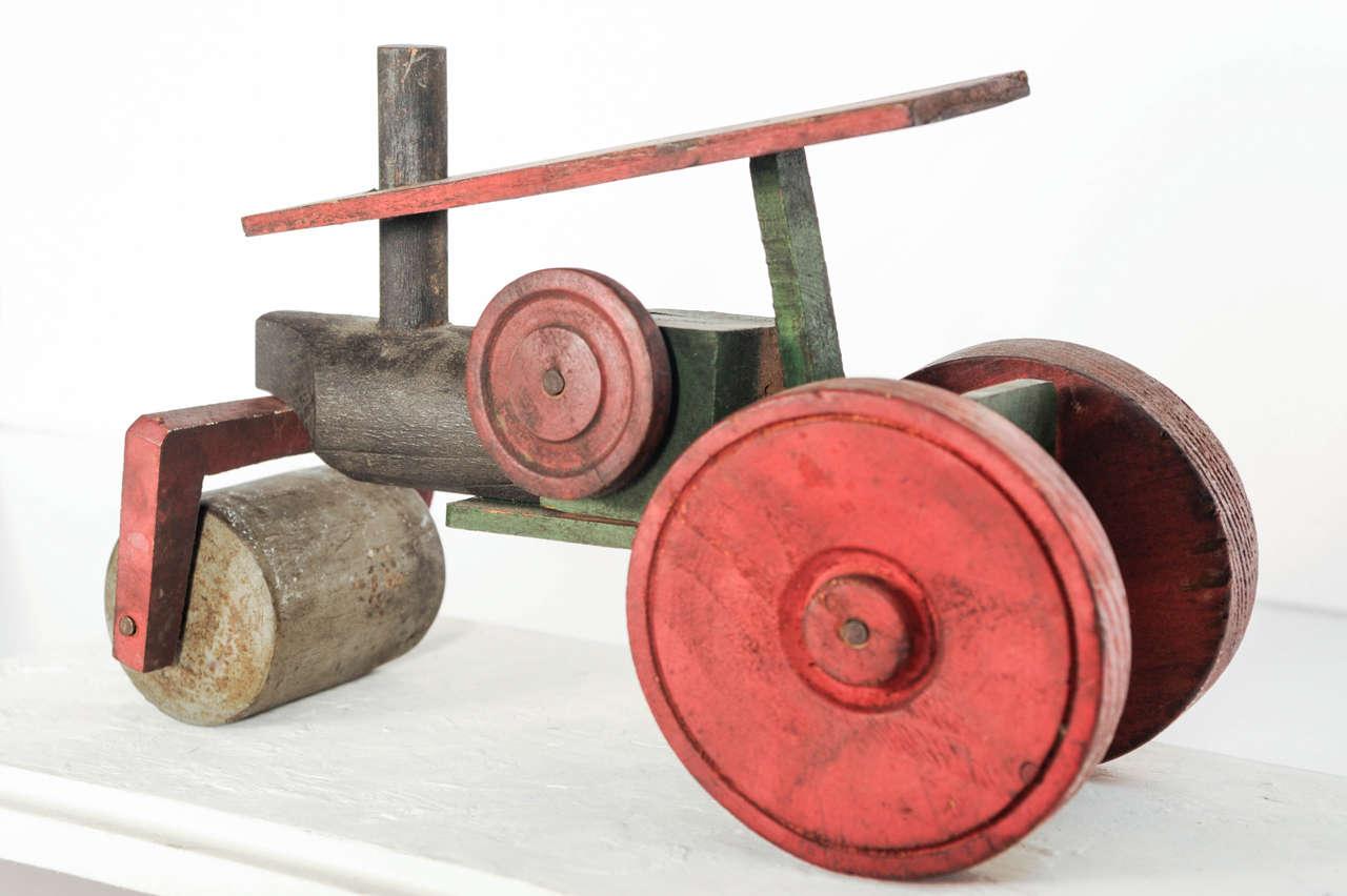 Italian Wooden Toy Train 4