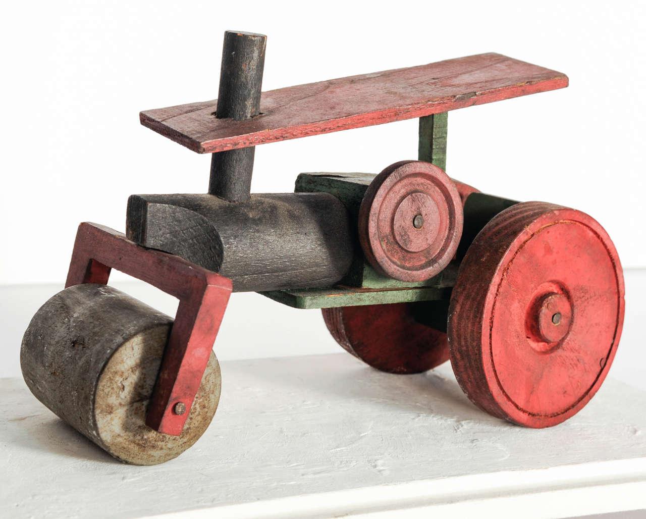 Italian Wooden Toy Train 5