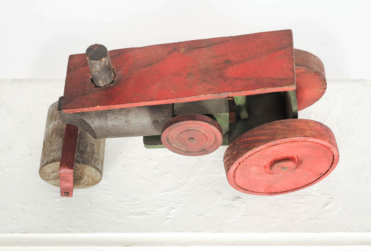 Italian Wooden Toy Train 6