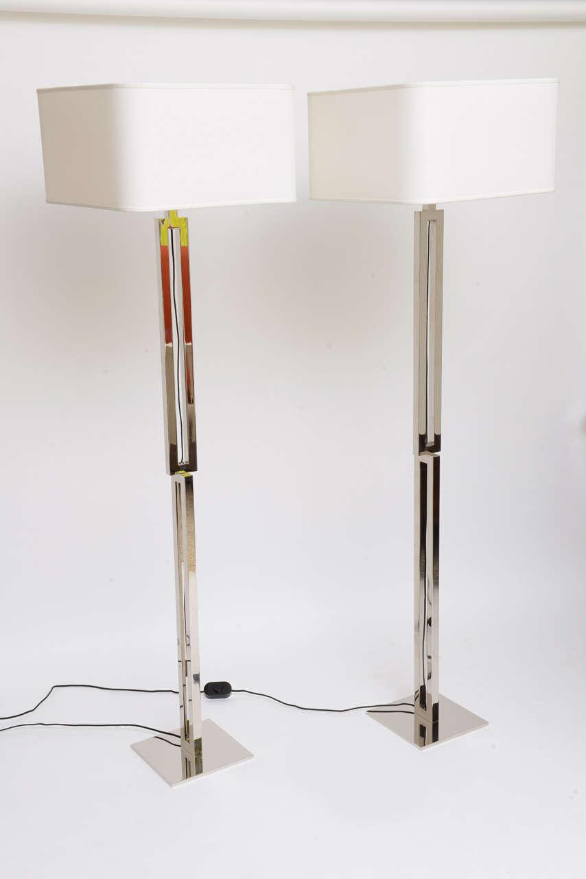 Fun India Mahdavi Quot Lollipop Quot Floor Lamps At 1stdibs