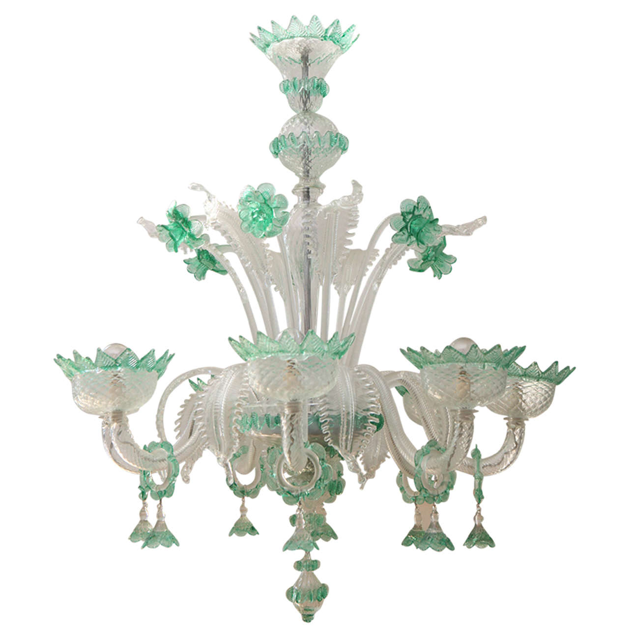 - Antique Murano Glass Chandelier At 1stdibs