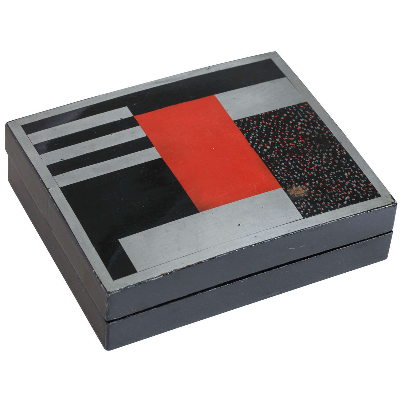 French Art Deco Lacquered Box