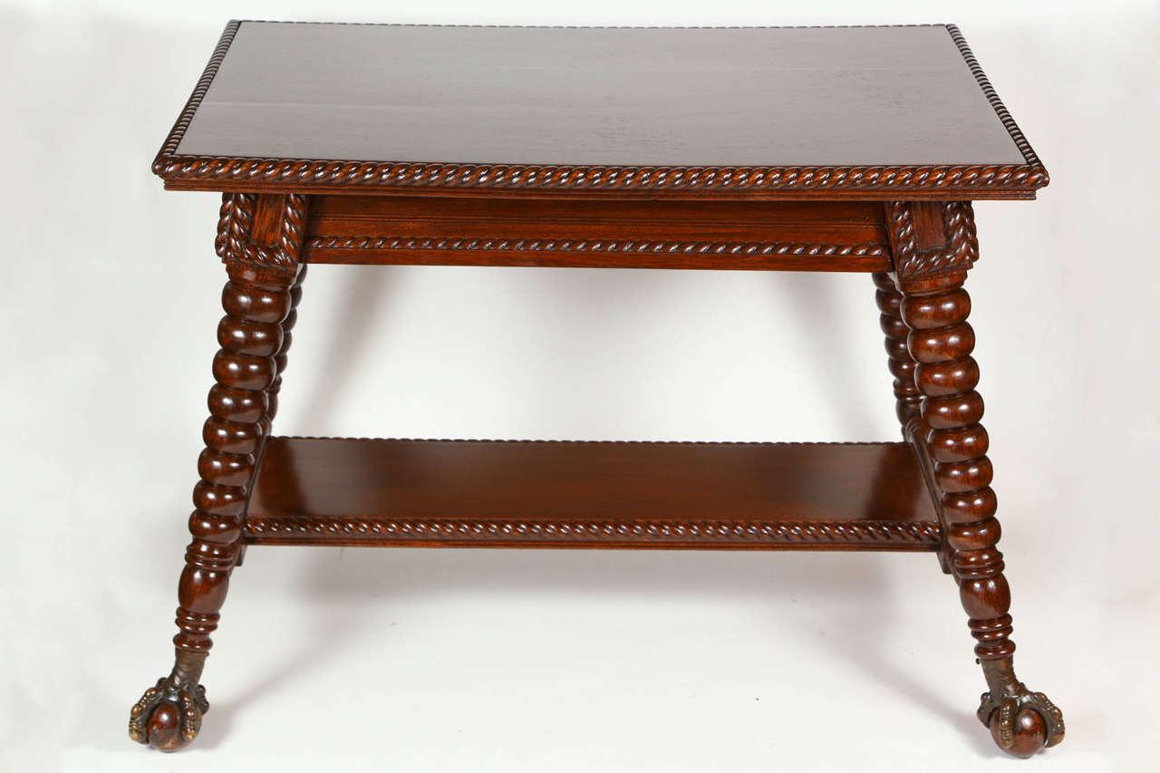 Strange American Oak Library Table Circa 1890S Download Free Architecture Designs Oxytwazosbritishbridgeorg