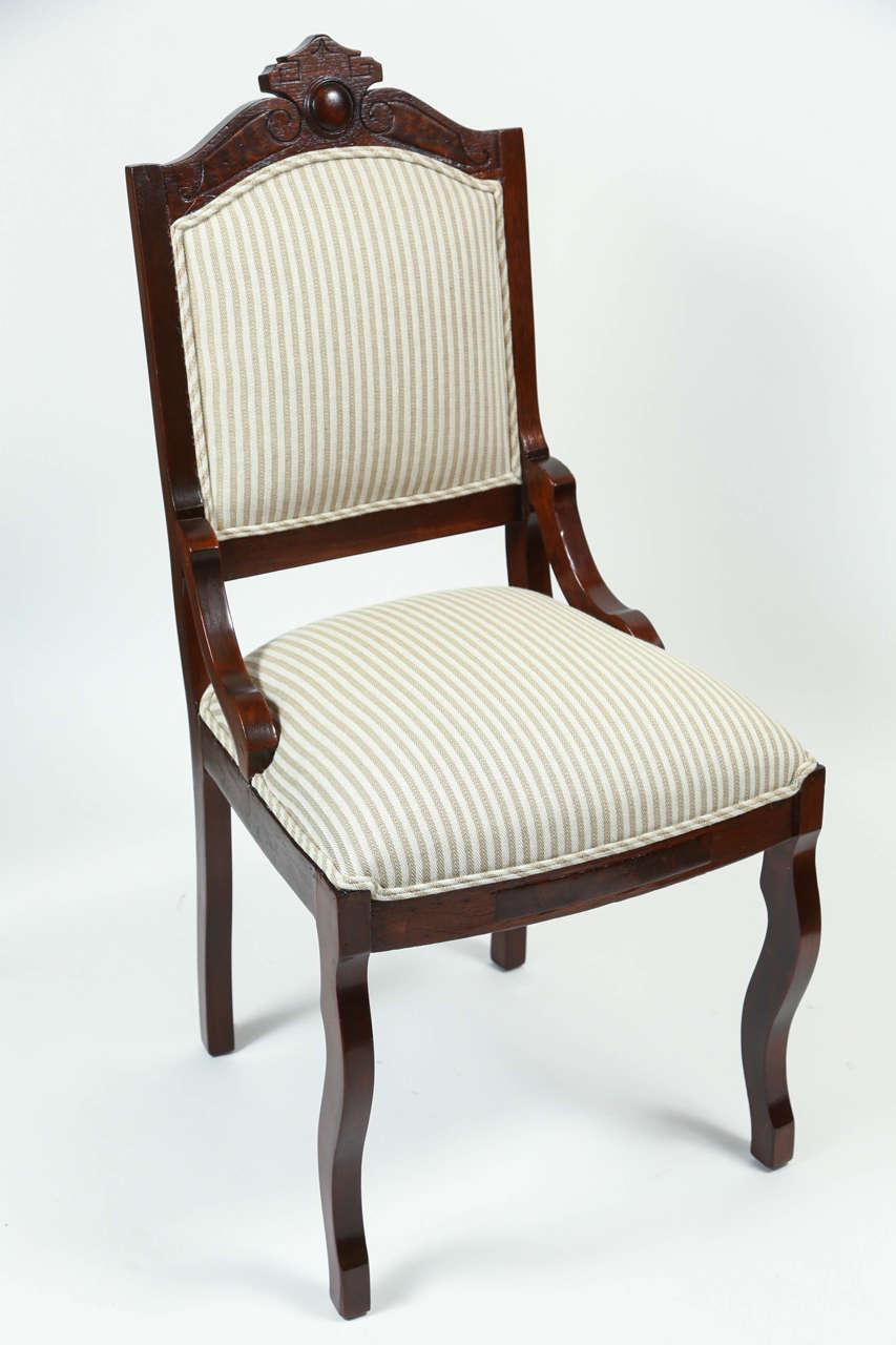 Vintage Eastlake Side Chair For Sale at 1stdibs : DSA1849 from www.1stdibs.com size 853 x 1280 jpeg 76kB