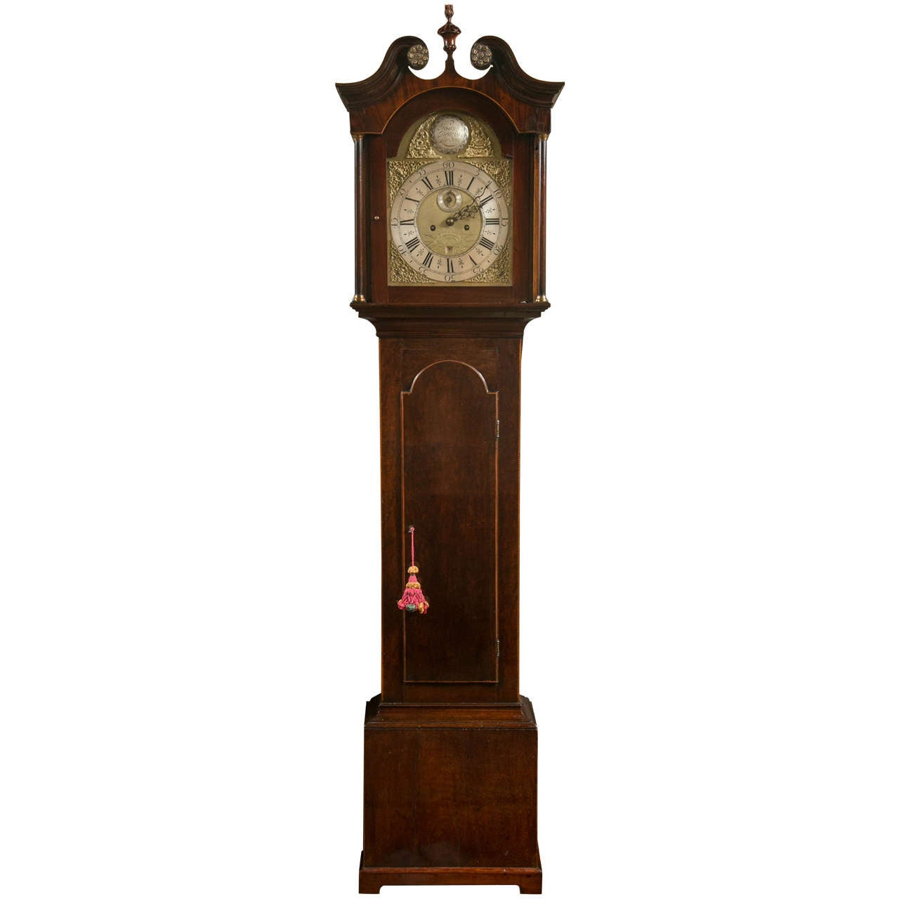 Mahogany Tall Case Clock