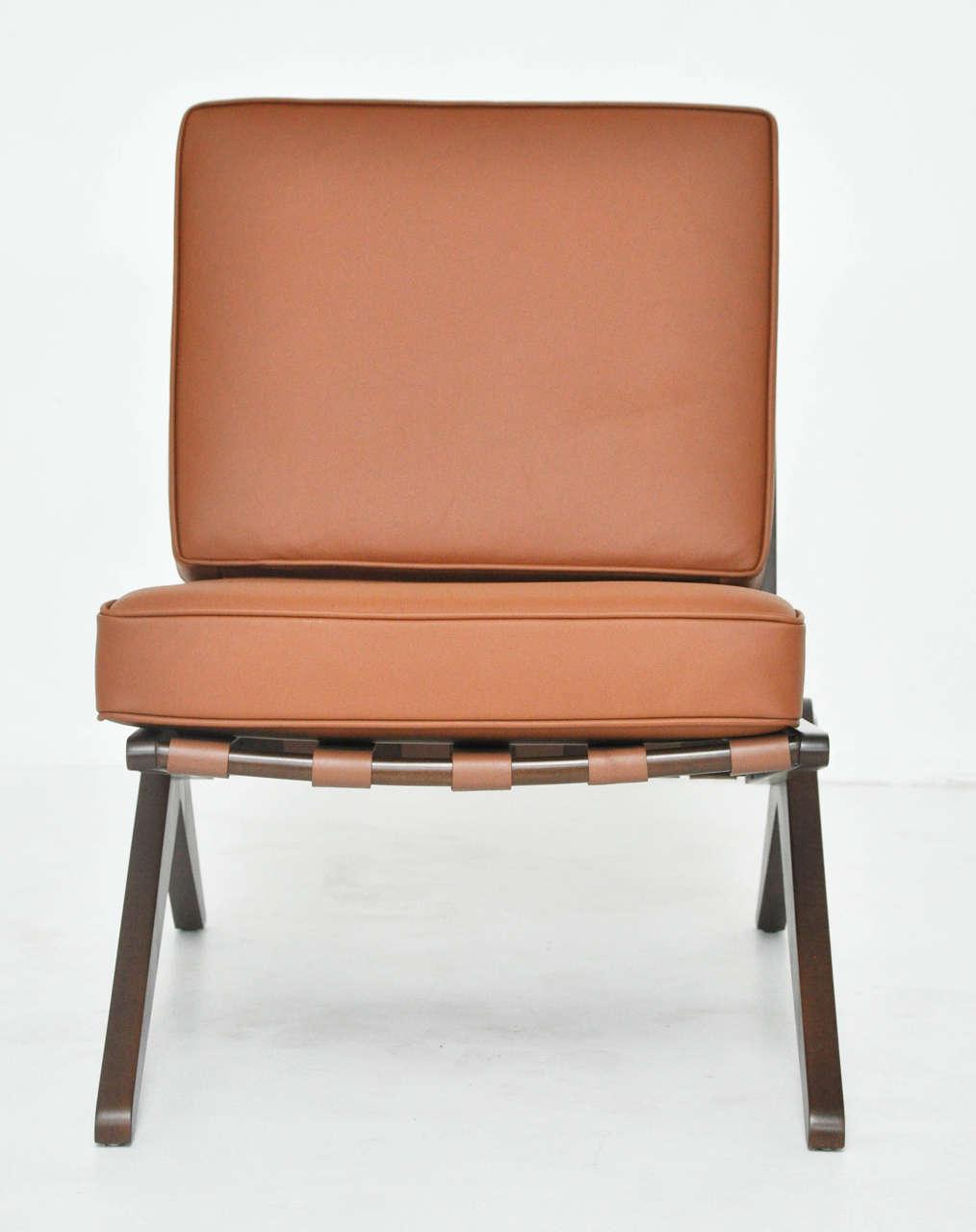 Pierre Jeanneret Scissor Chair At 1stdibs