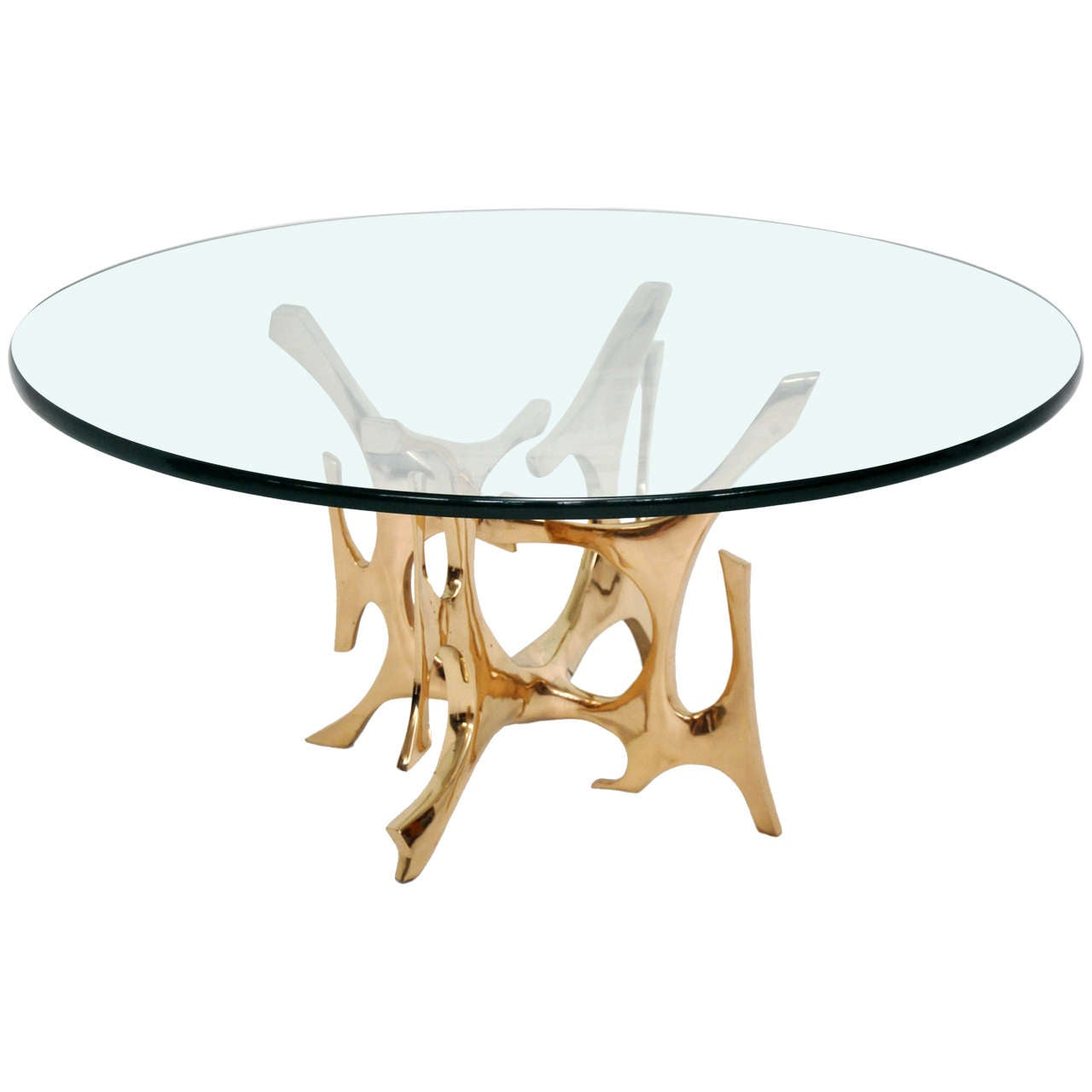 fred brouard bronze sculpture coffee table at 1stdibs