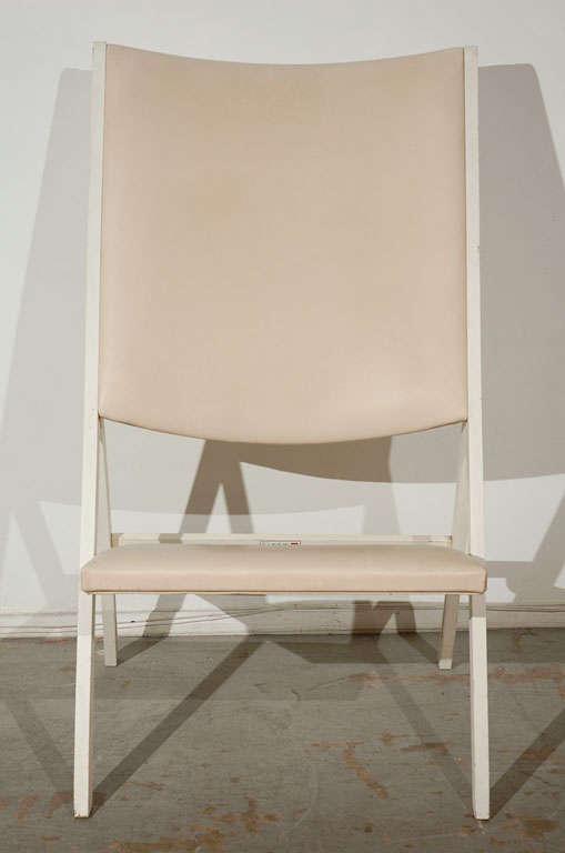 "Pair of ""Gabriella"" Chairs by Gio Ponti 3"