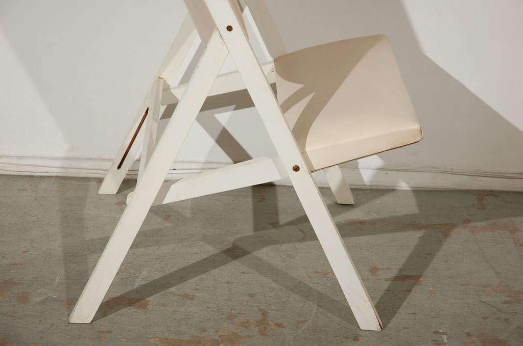 "Pair of ""Gabriella"" Chairs by Gio Ponti 4"