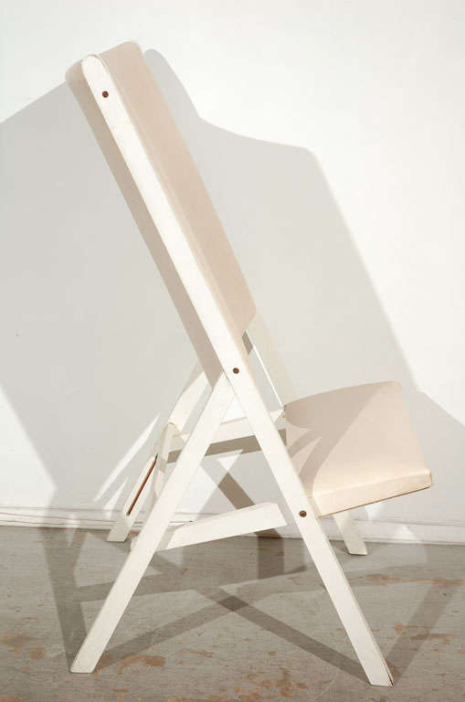 "Pair of ""Gabriella"" Chairs by Gio Ponti 7"