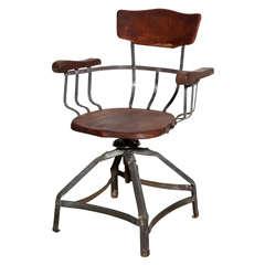 Brunswick swivel Arm Chair