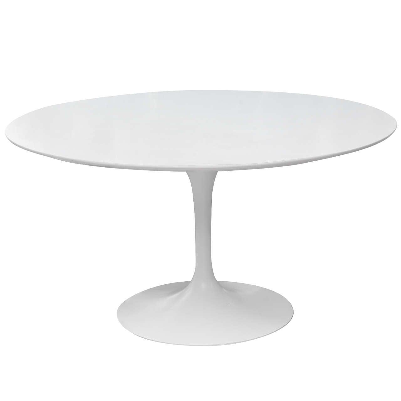 vintage knoll saarinen dining table at 1stdibs. Black Bedroom Furniture Sets. Home Design Ideas
