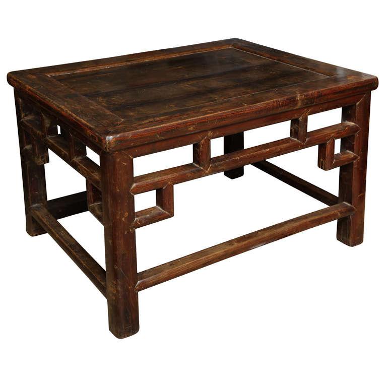 Cypress Meditation Bench/Table At 1stdibs