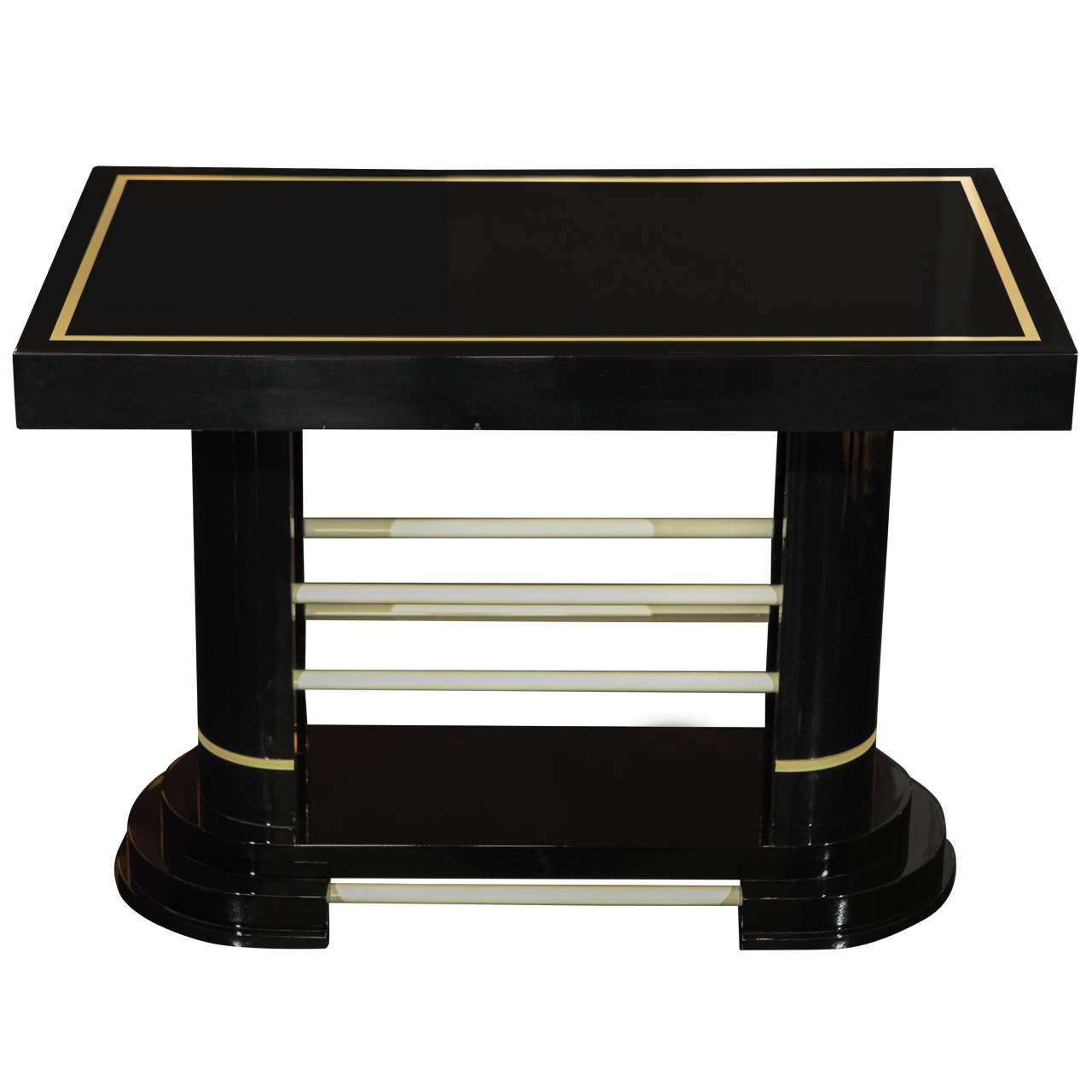 Modernistic Side Table At 1stdibs