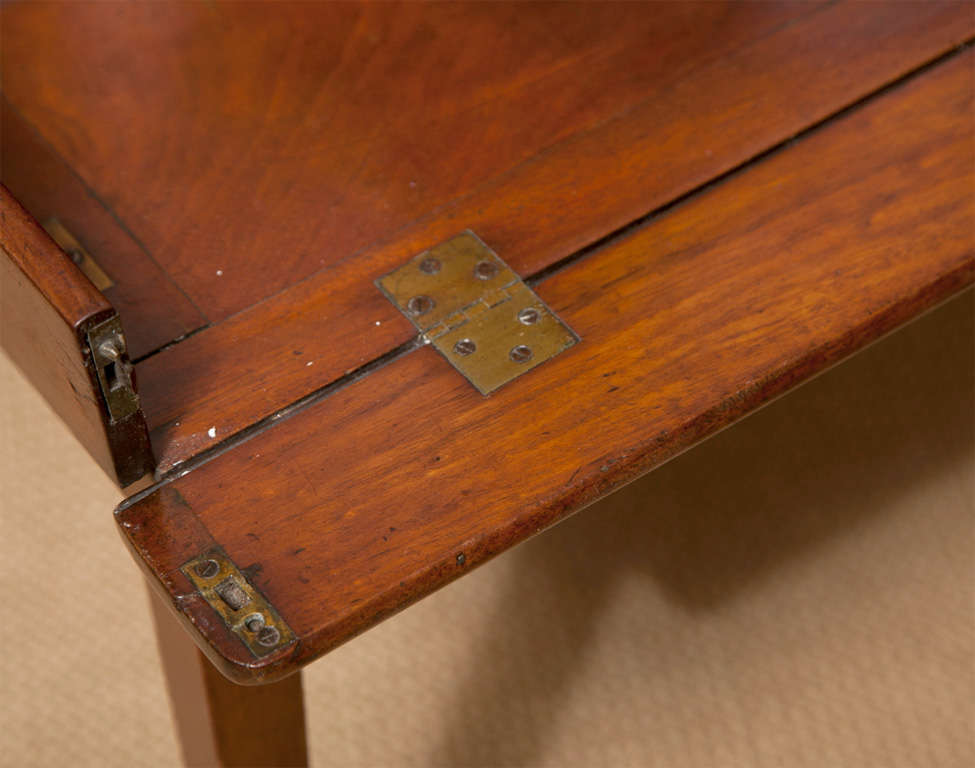 19th Century Mahogany Folding Butler's Tray Occasional Table For Sale 3