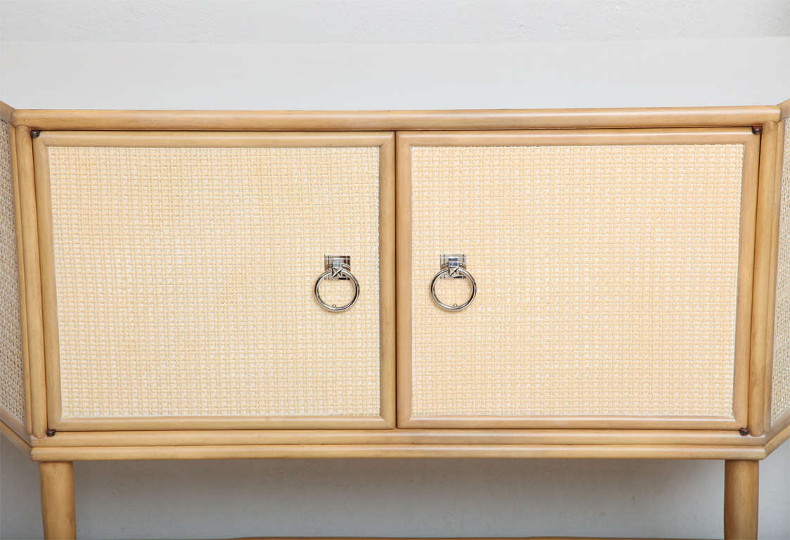 Tommi parzinger rattan sideboard drybar for willow and for Sideboard rattan