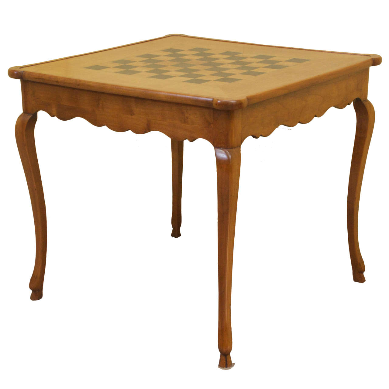 Louis XV Style Cherrywood Game Table at 1stdibs