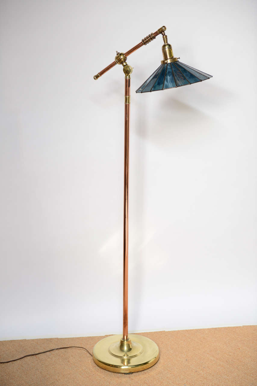 Arts And Crafts Pharmacy Floor Lamp At 1stdibs