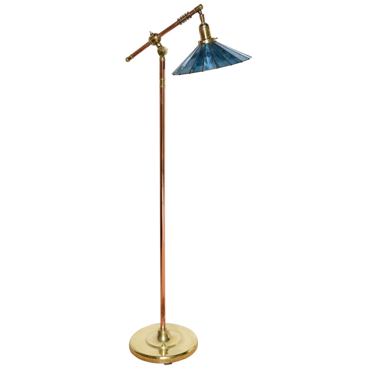 Craft Floor Lamps: Arts And Crafts Pharmacy Floor Lamp At 1stdibs