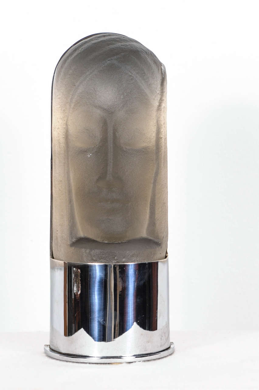 Art Deco Wall Lamp Leerdam Glass 1930s at 1stdibs