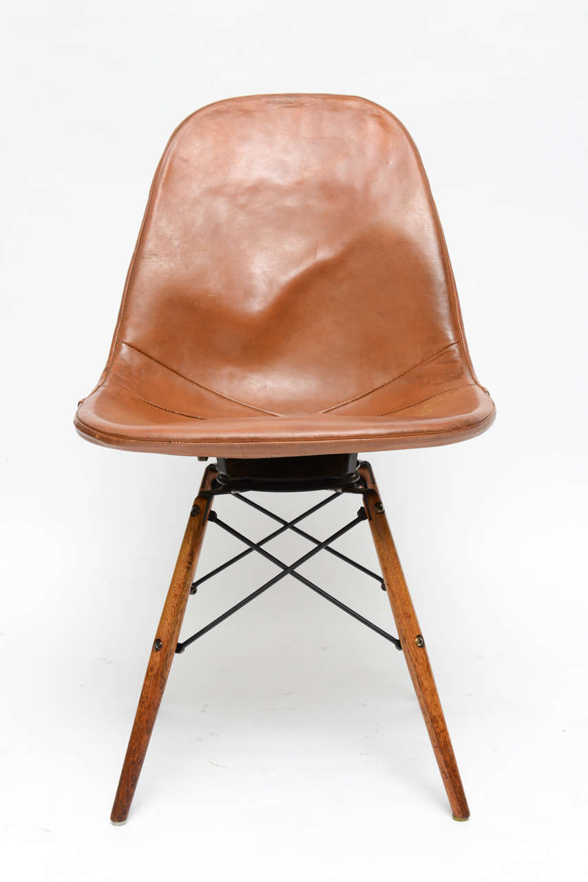 Early quot eiffel tower quot chair by charles and ray eames for herman miller