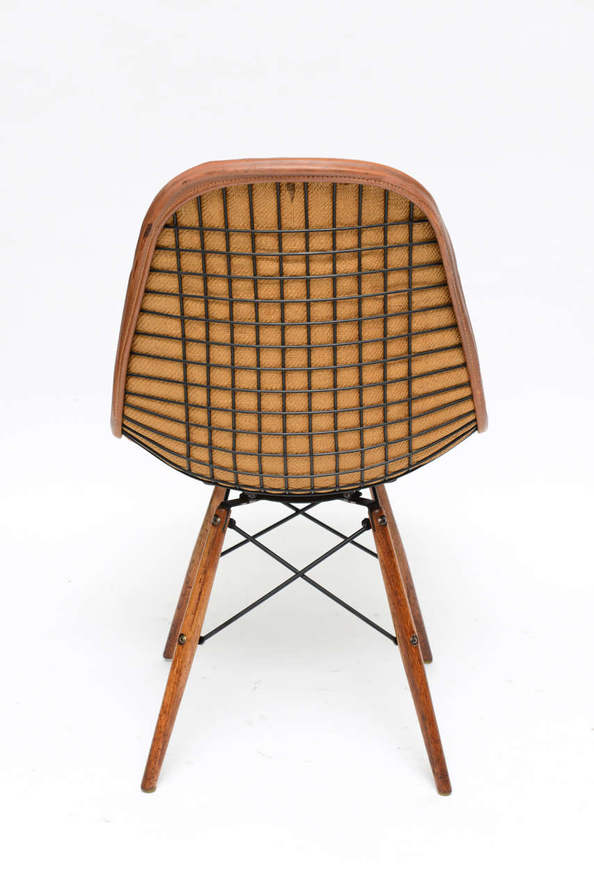 Early Eiffel Tower Chair By Charles And Ray Eames For Herman Mill