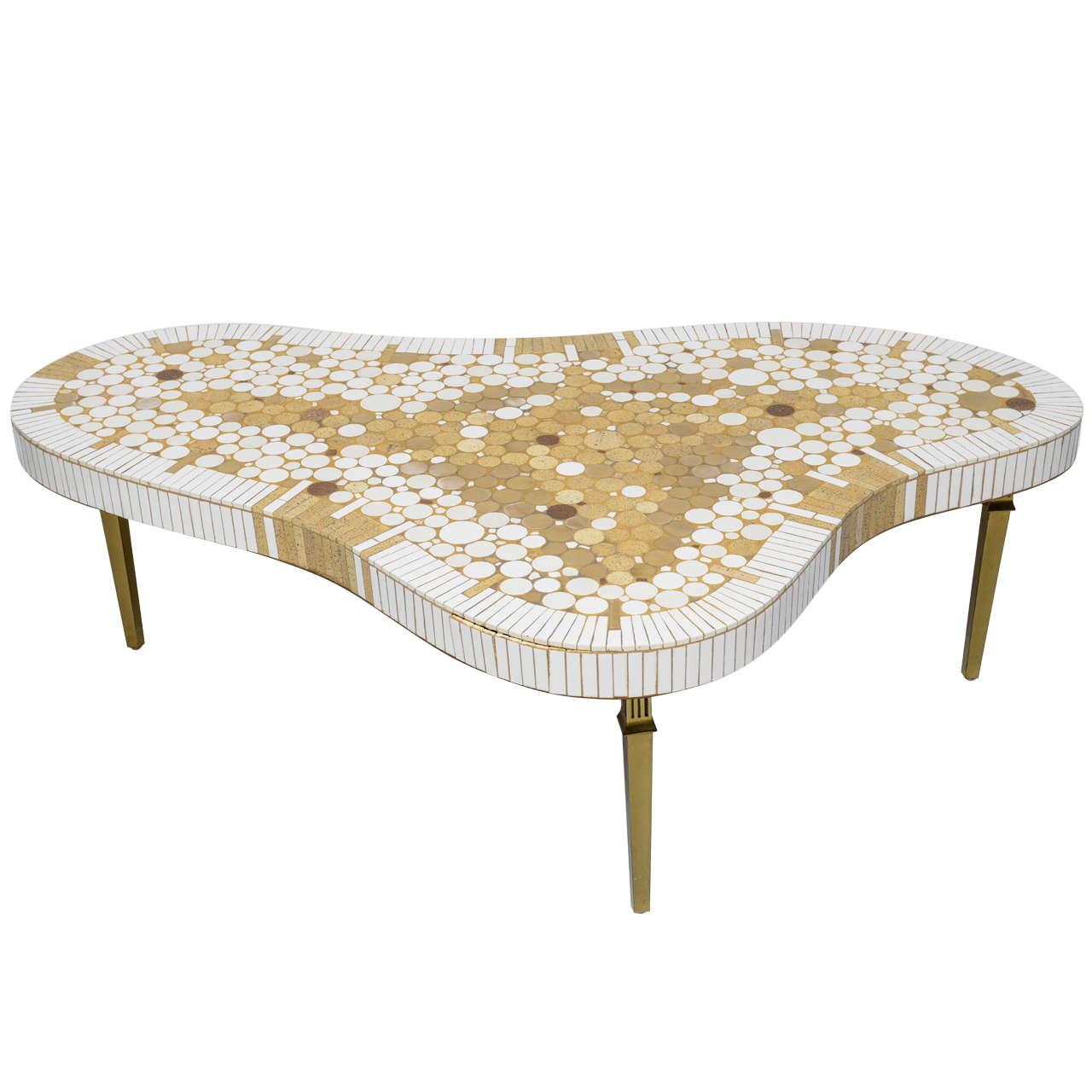 50u0027s Tile Coffee Table By Richard Hohenberg 1