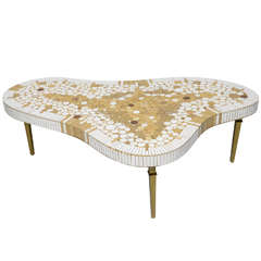 50's Tile Coffee Table by Richard Hohenberg