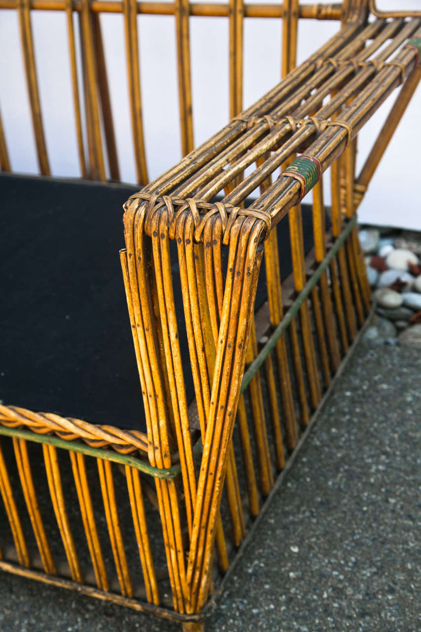 Antique Stick Wicker Sofa At 1stdibs