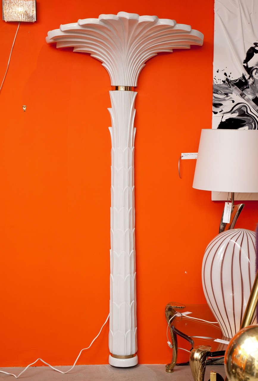 Wall Sculpture, Palm Tree Floor Lamp 2