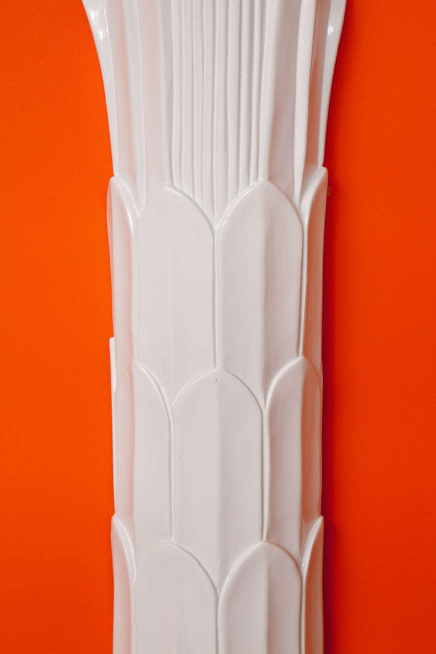 Wall Sculpture, Palm Tree Floor Lamp 3