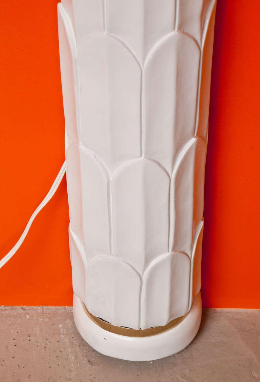 Wall Sculpture, Palm Tree Floor Lamp 4