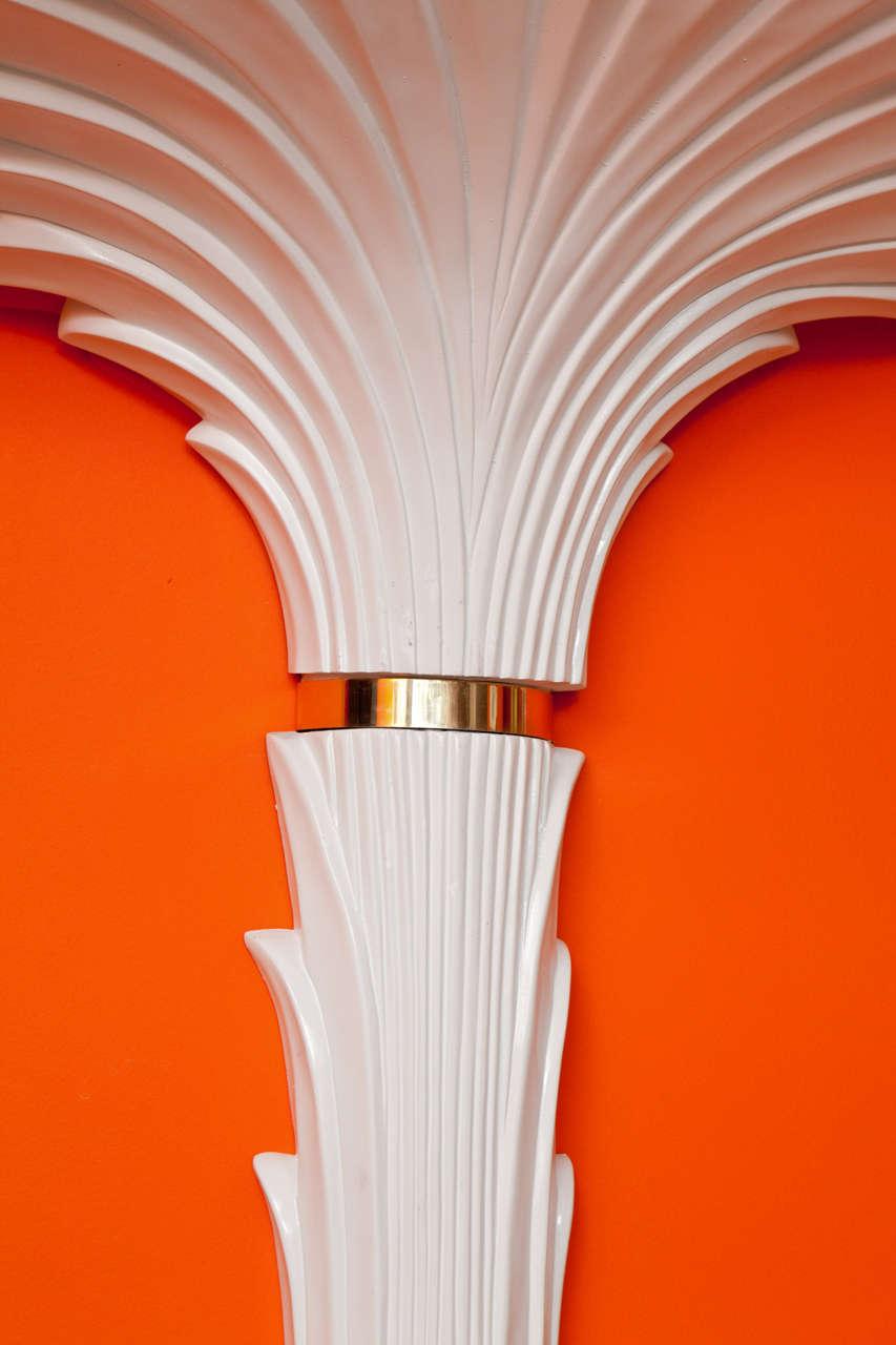 Wall Sculpture, Palm Tree Floor Lamp 5