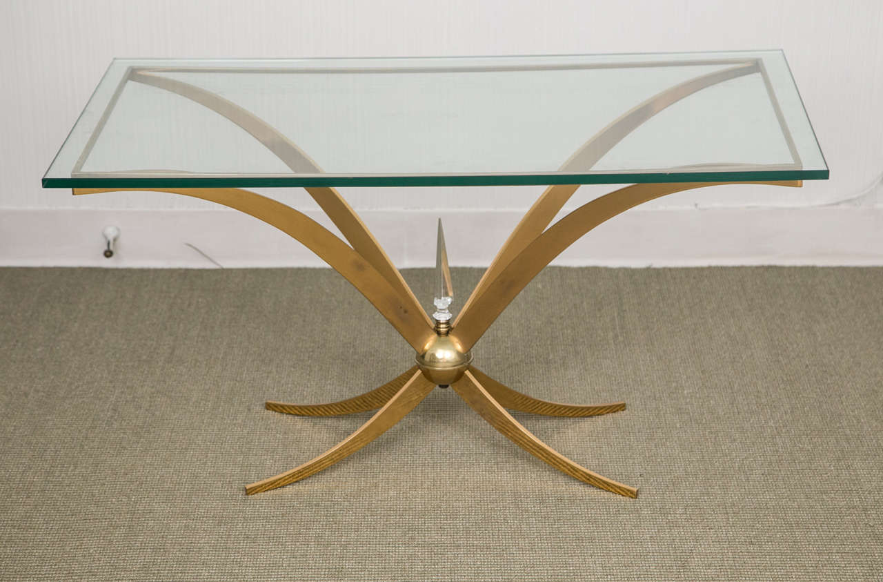 Unusual Italian Bronze Table In Excellent Condition For Sale In Mt Kisco, NY