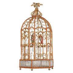 Sicilian birdcage chandelier