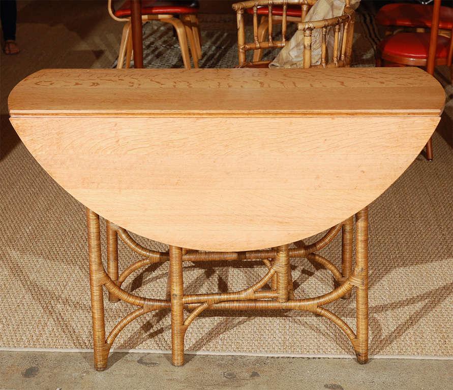Heywood Wakefield Dropleaf Dining Table Image 6