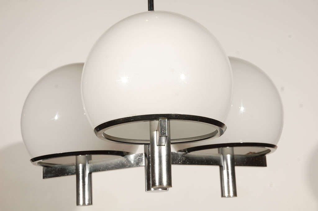 American Lightolier Ceiling Fixture For Sale