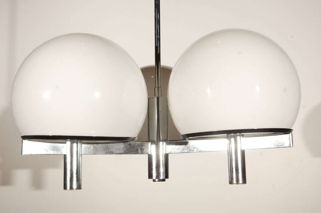 Mid-20th Century Lightolier Ceiling Fixture For Sale