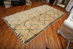 Antique Beni Ourain Rug #1 image 3