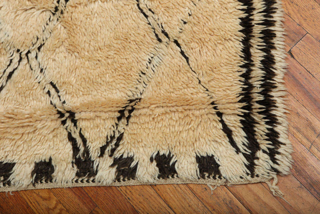 Antique Beni Ourain Rug #1 image 4