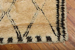 Antique Beni Ourain Rug #1 thumbnail 4