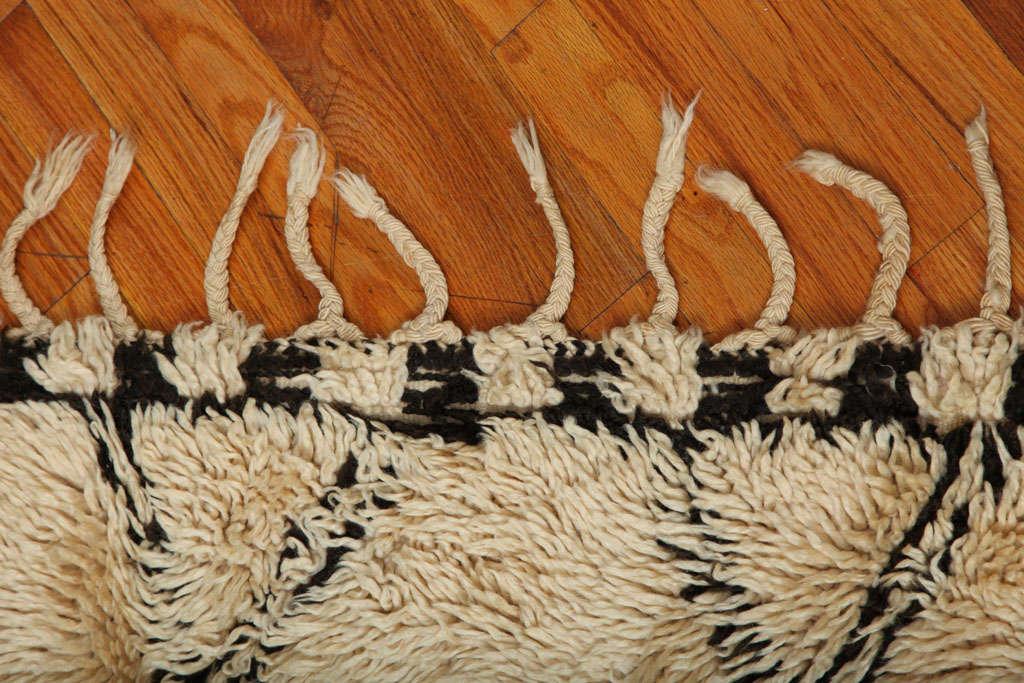 Antique Beni Ourain Rug #1 5