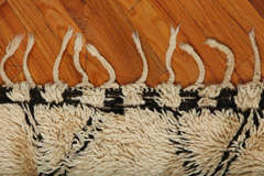 Antique Beni Ourain Rug #1 image 5