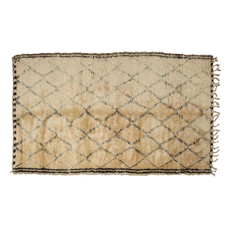 antique beni ourain rug 1 at 1stdibs. Black Bedroom Furniture Sets. Home Design Ideas