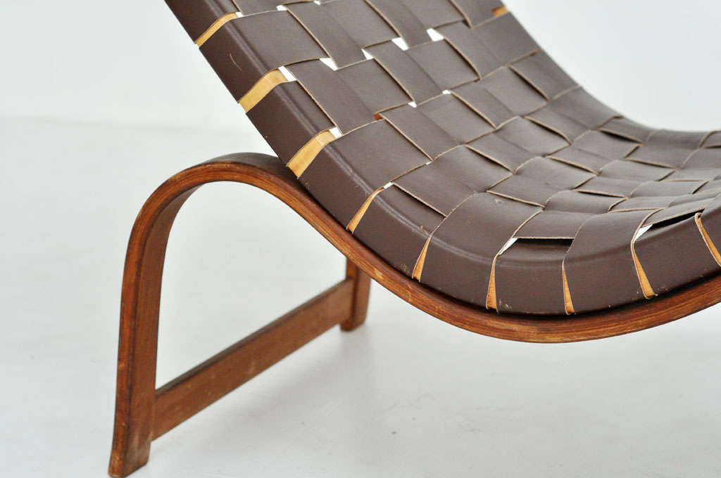 Bruno mathsson chaise lounge at 1stdibs for Chaise lounge chicago