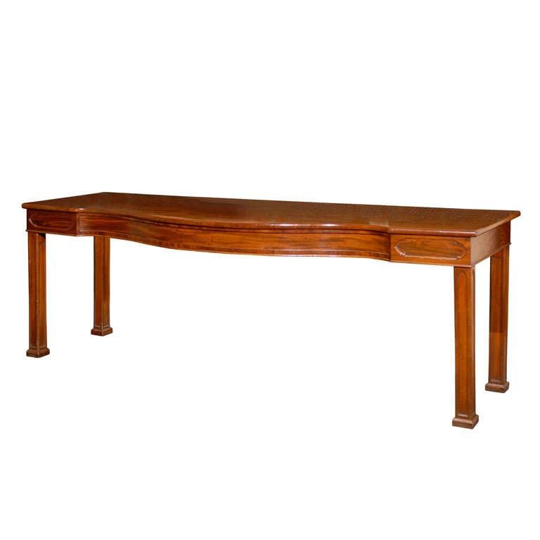 9 39 irish console of faded mahogany at 1stdibs for Sofa table ireland