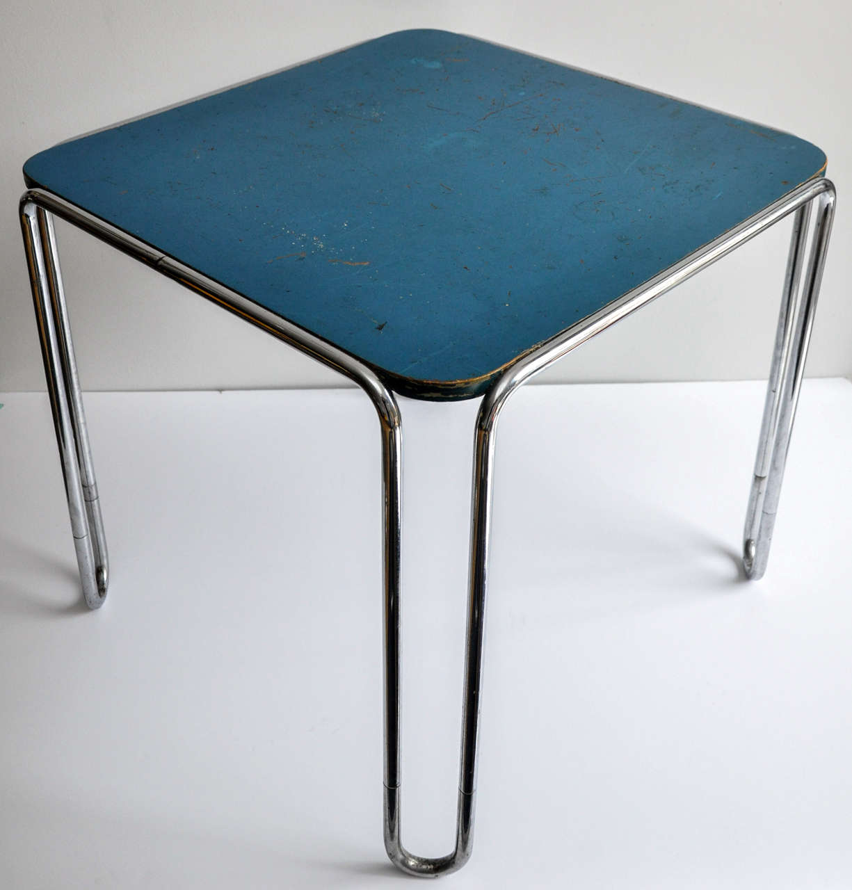 Tubular Steel Table B10 By Marcel Breuer/ Bauhaus 3