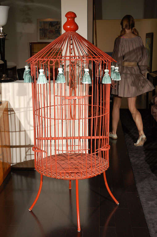 Tony Duquette Floor Bird Cage image 2