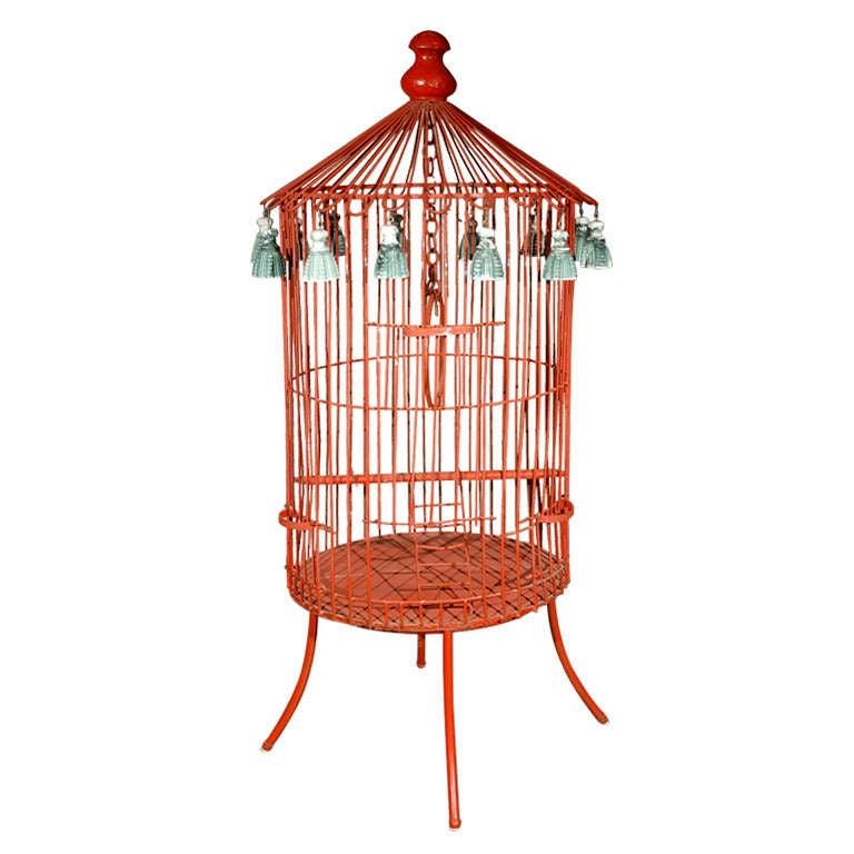 Tony Duquette Floor Bird Cage
