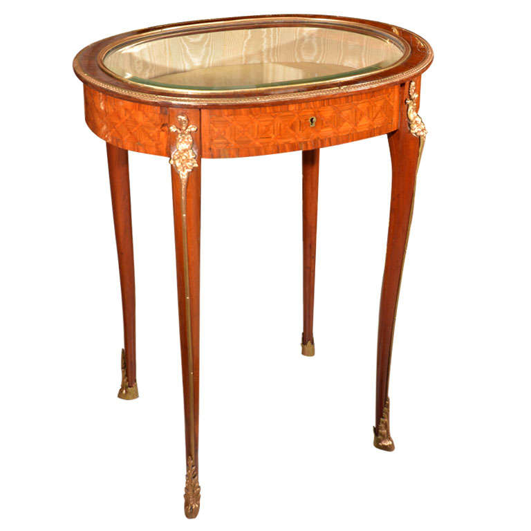 19thc signed P Sormani vitrine table For Sale at 1stdibs -> Table Centrale Vitrine